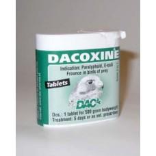Dacoxine tabs voor roofvogels EXPORT
