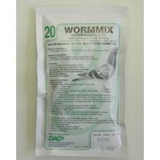 Wormmix poeder voor roofvogels